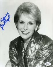 Janet Leigh Jsa Hand Signed 8x10 Photo Authentic Autograph
