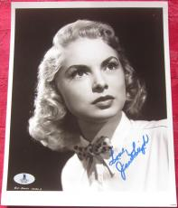 Janet Leigh Psycho Actress Signed 8x10 Photo BAS Beckett Authentication