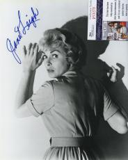 Janet Leigh Psycho Bw Signed Autographed Photo Jsa Coa Rare!!