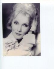Janet Leigh Psycho The Fog Touch Of Evil Oscar Nominee Signed Autograph Photo