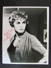 Janet Leigh Psycho Signed Auto Autograph 8x10 Photo JSA S16632