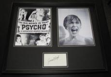 Janet Leigh PSYCHO Signed Framed 16x20 Poster Photo Set