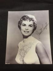 Janet Leigh Psycho The Fog Touch Of Evil Oscar Nom Signed Autograph 11x14 Photo