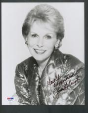 Janet Leigh Signed 8x10 Photo PSA/DNA Auto Autograph W30201