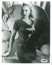 Janet Leigh Signed Authentic Autographed 8x10 Photo (PSA/DNA) #S96891