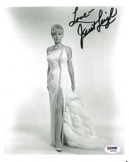 Janet Leigh Signed Authentic Autographed 8x10 Photo (PSA/DNA) #V90534