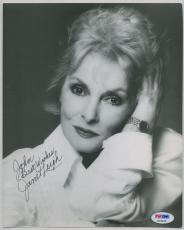 JANET LEIGH SIGNED AUTOGRAPHED PSA DNA 8x10 PHOTO AUTO P63405