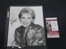 JANET LEIGH SIGNED BLACK & WHITE 8x10 PHOTO HITCHCOCK's PYSCHO JSA COA