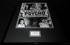 Janet Leigh Signed Framed 16x20 Poster Photo Display JSA Psycho