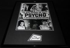 Janet Leigh Signed Framed 16x20 Poster Photo Display Psycho E