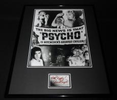 Janet Leigh Signed Framed 16x20 Poster Photo Display Psycho F