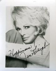Janet Leigh Signed Jsa Certed 3x5 Photo Authentic Autograph