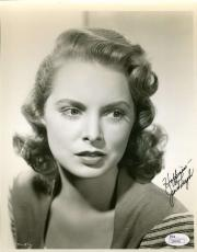 Janet Leigh Vintage Jsa Coa Hand Signed 8x10 Photo Authenticated Autograph