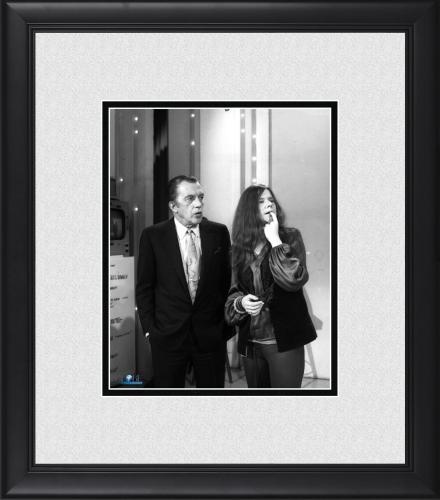 "Janis Joplin & Ed Sullivan Framed 8"" x 10"" Photograph"