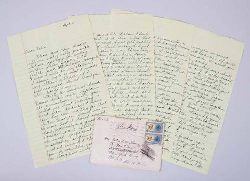 Janis Joplin Signed Letter (8) Handwritten Pages – COA JSA