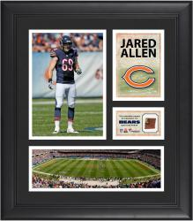 Jared Allen Chicago Bears Framed 15'' x 17'' Collage with Game-Used Football