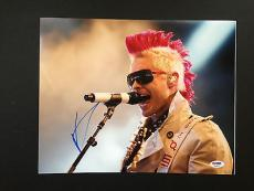 Jared Leto Signed 11x14 Photo Psa Dna Coa Autograph 30 Seconds To Mars