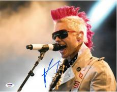 Jared Leto Signed 30 Seconds to Mars Autographed 11x14 Photo PSA/DNA #AA95954