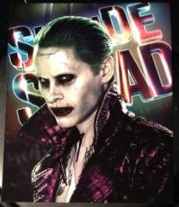 Jared Leto Signed Autograph Suicide Squad Hot Close Up Joker Poster Photo Coa