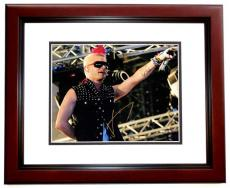 Jared Leto Signed - Autographed 30 Seconds to Mars Lead Singer 11x14 inch Photo MAHOGANY CUSTOM FRAME - Guaranteed to pass PSA or JSA