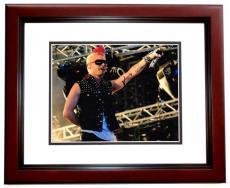 Jared Leto Signed - Autographed 30 Seconds to Mars Lead Singer 11x14 Photo MAHOGANY CUSTOM FRAME