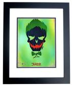 Jared Leto Signed - Autographed Suicide Squad 8x10 inch Photo BLACK CUSTOM FRAME - Guaranteed to pass PSA or JSA - The Joker