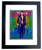 Jared Leto Signed - Autographed Suicide Squad - The Joker 11x14 inch Photo - 30 Seconds to Mars Singer - BLACK CUSTOM FRAME - Guaranteed to pass PSA or JSA