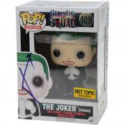 Jared Leto Suicide Squad Autographed #109 Tuxedo Joker Funko Pop! - JSA