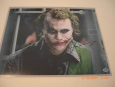 Jared Leto The Joker,batman Actor Td/hologram Signed 11x14 Photo