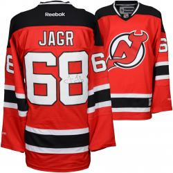 Jaromir Jagr New Jersey Devils Autographed Red Reebok Premier Jersey