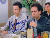 Jarrad Paul signed Seinfeld The Voice 8x10 photo w/coa #7 Kramerica