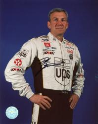 Dale Jarrett Autographed 8'' x 10'' Ups Hands On Hips Photograph