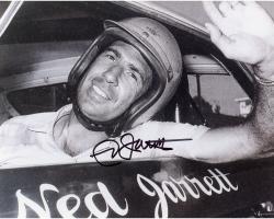 Ned Jarrett Autographed 8x10 Photo