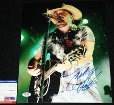 Jason Aldean signed 11 x 14, Burnin' It Down, She's Country,Night Train, PSA/DNA