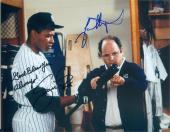 Jason Alexander and Danny Tartabull autographed 8x10 photo (Seinfeld NY Yankees George Costanza) Image #SC8