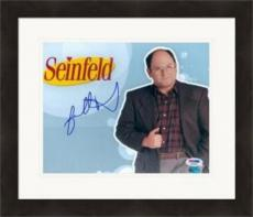 Jason Alexander autographed 8x10 Photo (George Costanza,Seinfeld) PSA Image #6 Matted & Framed