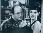 Jason Alexander autographed 8x10 photo (Seinfeld George Costanza pictured with Marisa Tomei) Image #SC9