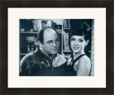 Jason Alexander autographed 8x10 photo (Seinfeld George Costanza pictured with Marisa Tomei) #SC9 Matted & Framed