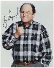 JASON ALEXANDER HAND SIGNED 8x10 COLOR PHOTO+COA       COSTANZA FROM SEINFELD
