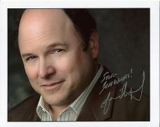 JASON ALEXANDER HAND SIGNED 8x10 COLOR PHOTO+COA    GEORGE COSTANZA     TO STEVE