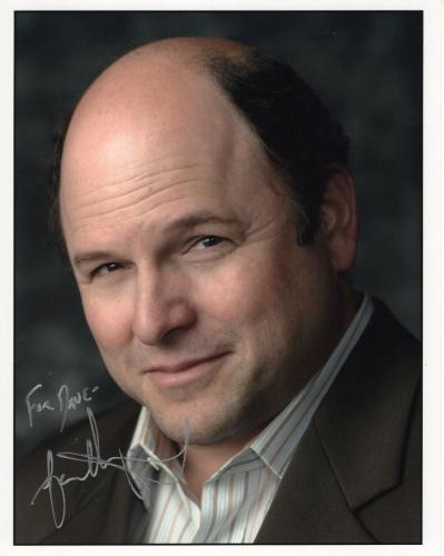 JASON ALEXANDER HAND SIGNED 8x10 COLOR PHOTO+COA   GEORGE ON SEINFELD    TO DAVE