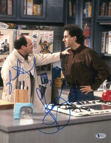Jason Alexander Jerry Seinfeld Signed 11x14 Photo Authentic Autograph Bas Coa