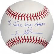 "Jason Alexander Seinfeld Autographed Baseball with ""Jerk Store"" Inscription"
