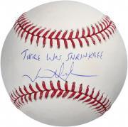 "Jason Alexander Seinfeld Autographed Baseball with ""Shrinkage"" Inscription"