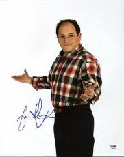 Jason Alexander Seinfeld Signed 11x14 Photo Autograph Psa/dna #k63374