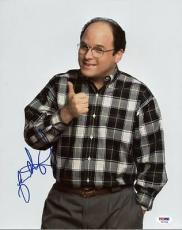 Jason Alexander Seinfeld Signed 11x14 Photo Autograph Psa/dna #p53269
