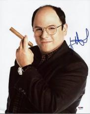 Jason Alexander Seinfeld Signed 11x14 Photo Autograph Psa/dna #p53272