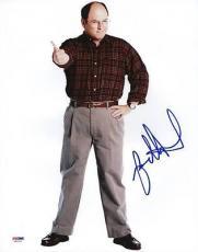 Jason Alexander Seinfeld Signed 11x14 Photo Psa/dna #s80525
