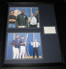Jason Alexander Seinfeld Signed Framed 16x20 Photo Set w/ Jeter & Williams