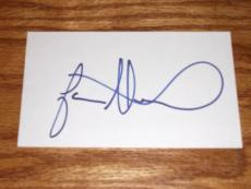 Jason Alexander Signed 3x5 Index Card Autographed *in-person* Coa